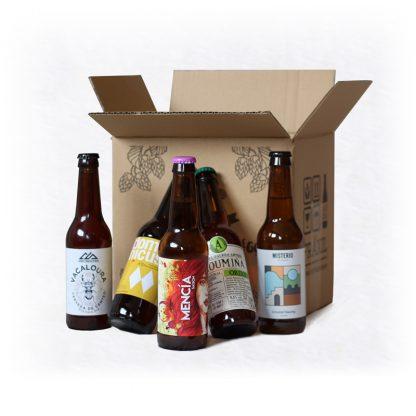pack cervexas artesanais galegas